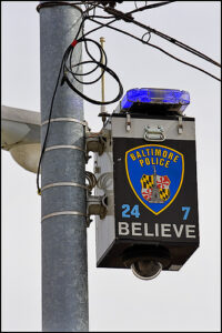 BALTIMORE, md SURVEILLANCE CAMERA INSTALLATION MARVELOUZ TEKNOLOGY blue light camera